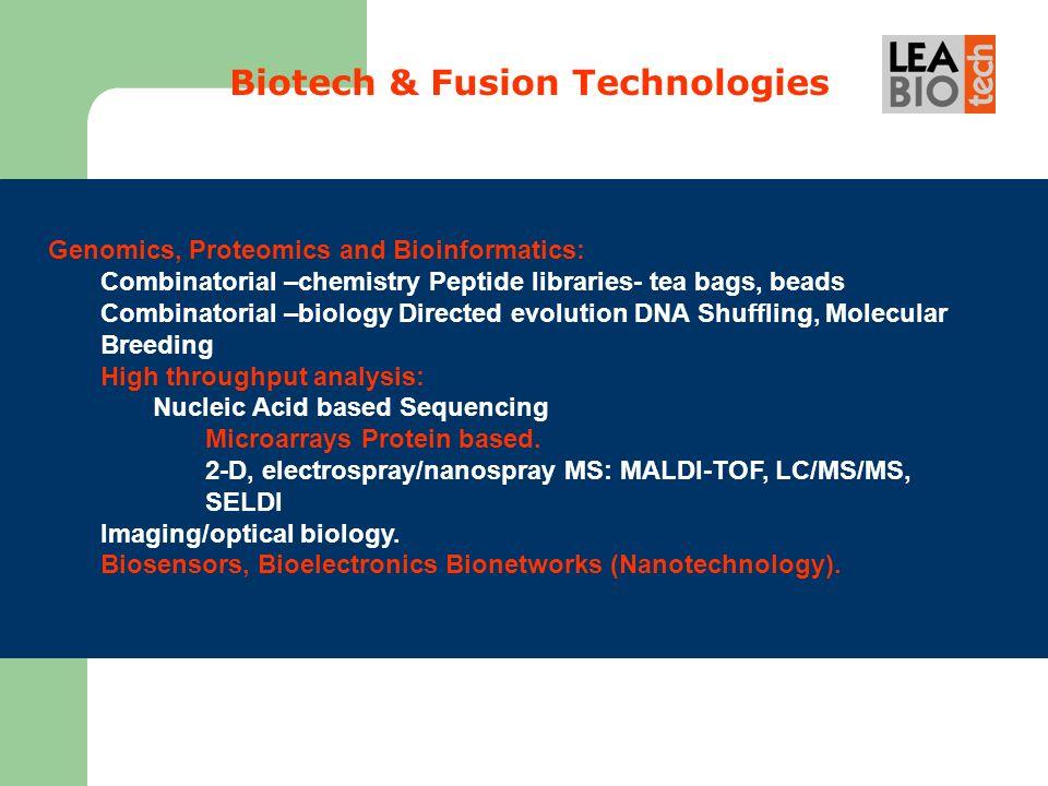 Biotech & Fusion Technologies