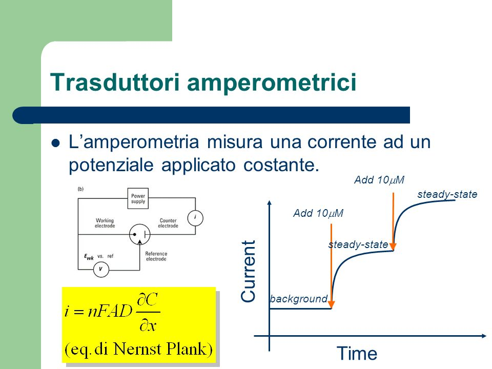 Trasduttori amperometrici