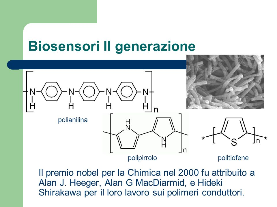 Biosensori II generazione