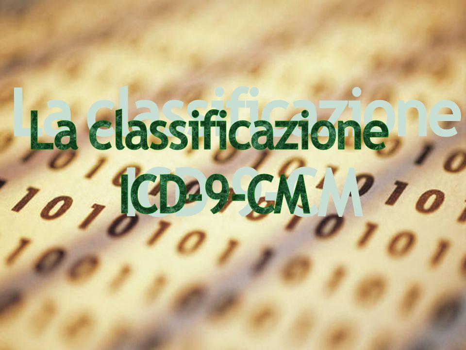 La classificazione ICD-9-CM