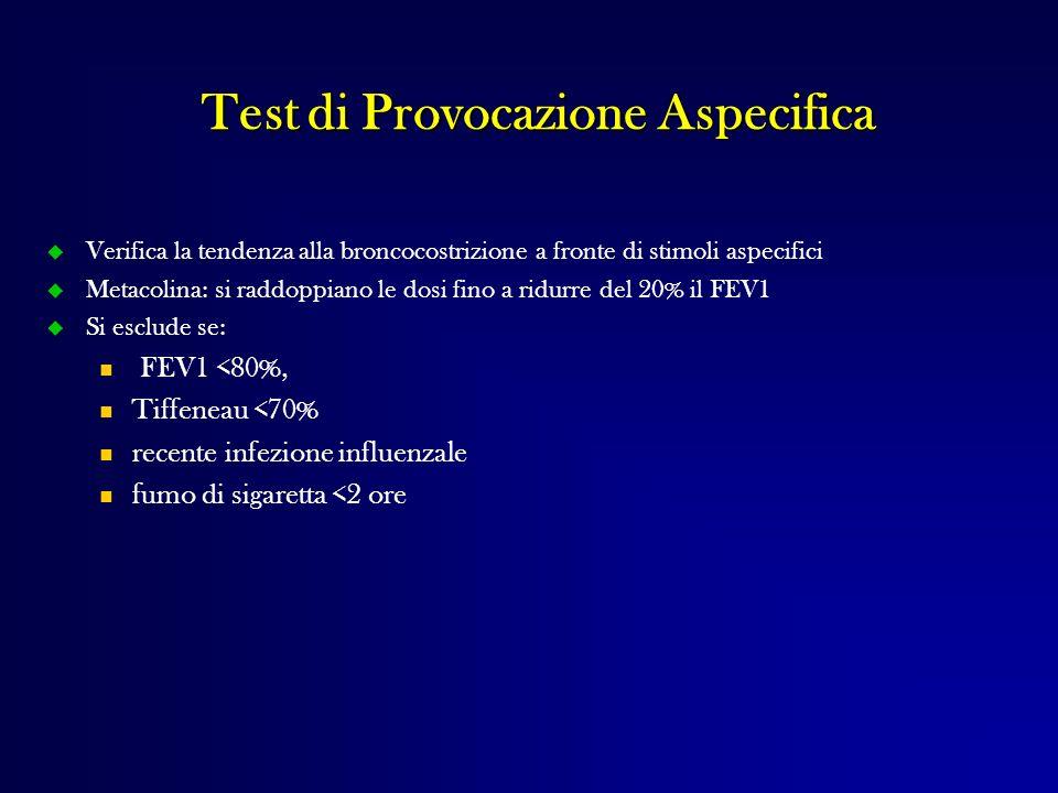 Test di Provocazione Aspecifica