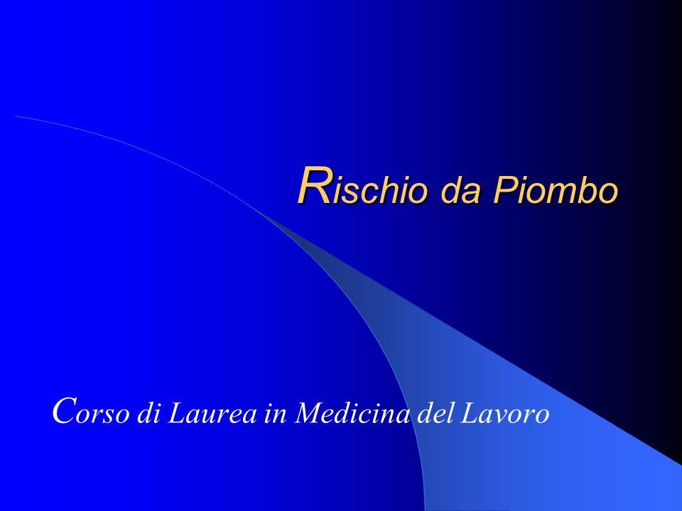 Corso di Laurea in Medicina del Lavoro