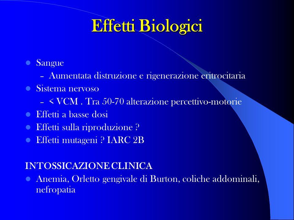 Effetti Biologici Sangue