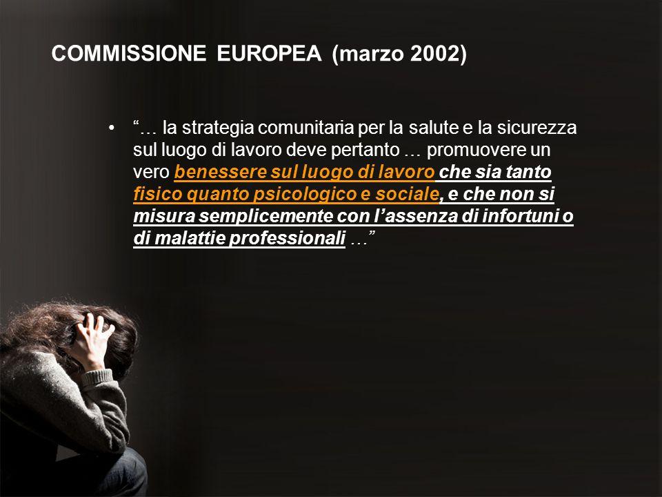 COMMISSIONE EUROPEA (marzo 2002)