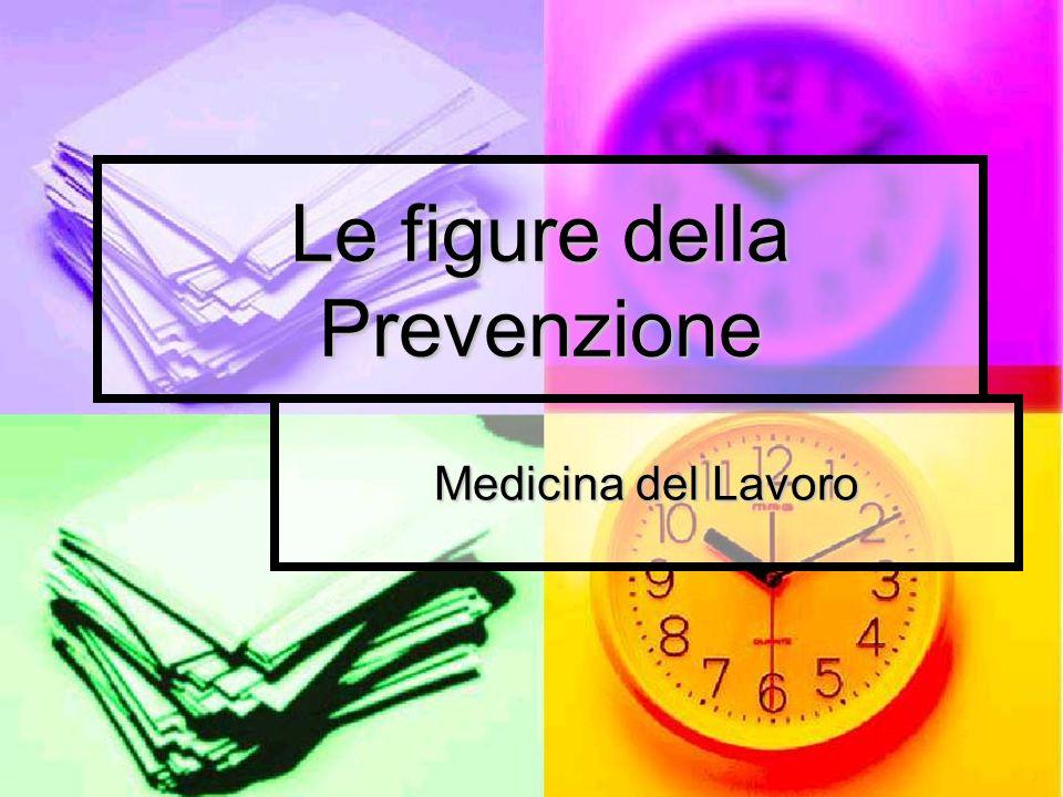 Le figure della Prevenzione