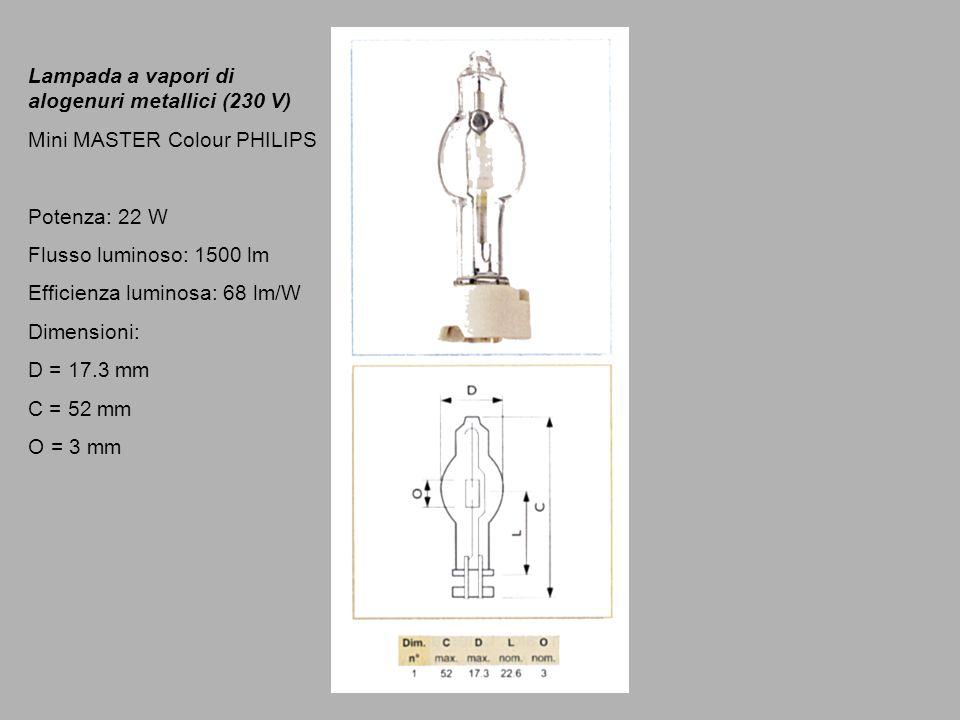 Lampada a vapori di alogenuri metallici (230 V)