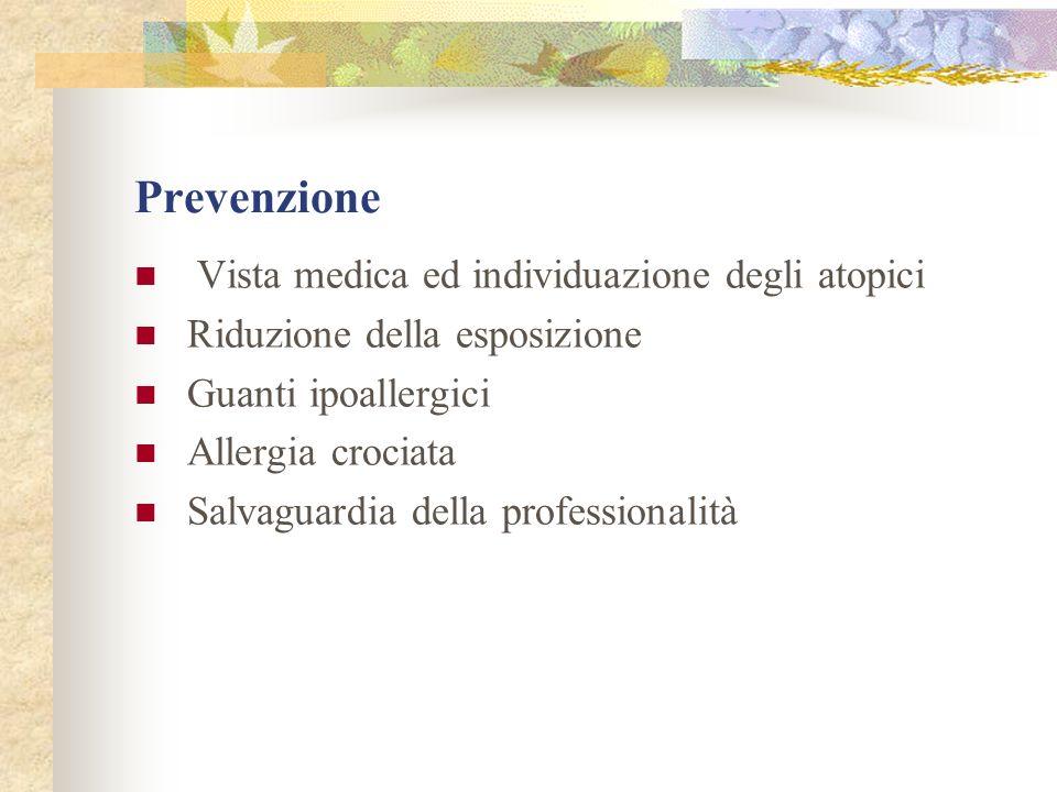 Prevenzione Vista medica ed individuazione degli atopici
