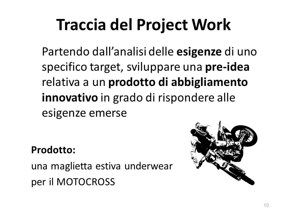 Traccia del Project Work