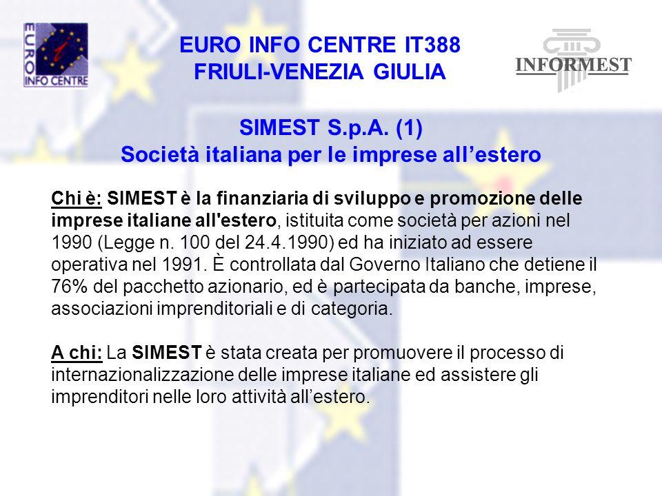 Società italiana per le imprese all'estero
