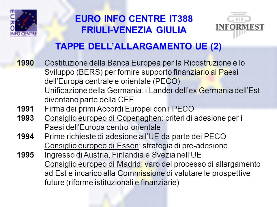 TAPPE DELL'ALLARGAMENTO UE (2)