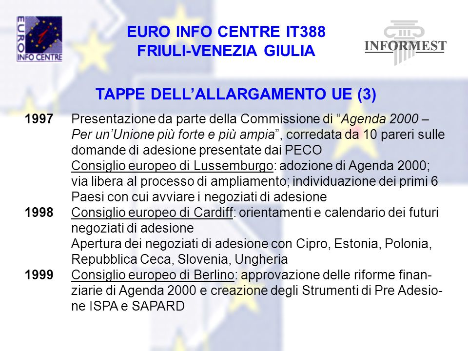 TAPPE DELL'ALLARGAMENTO UE (3)
