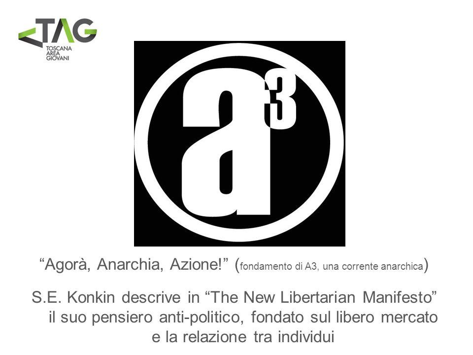 Agorà, Anarchia, Azione! (fondamento di A3, una corrente anarchica)
