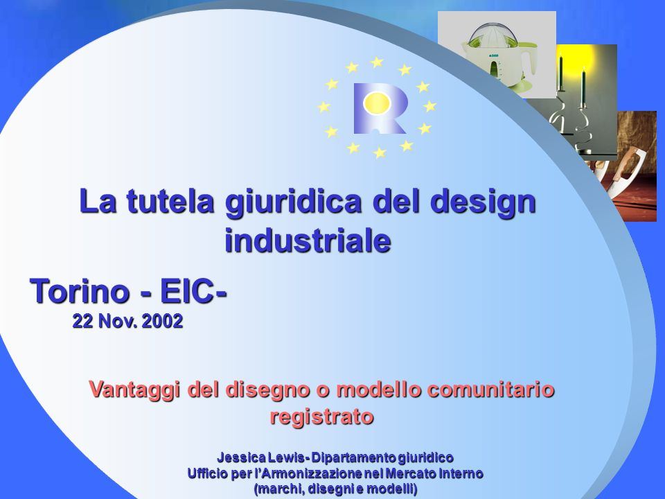 La tutela giuridica del design industriale