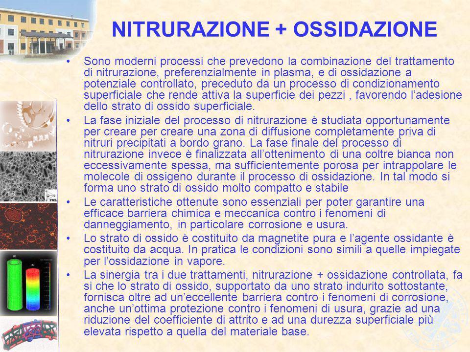 NITRURAZIONE + OSSIDAZIONE