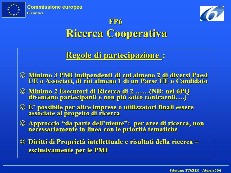 FP6 Ricerca Cooperativa