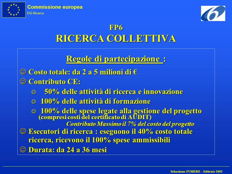 Regole di partecipazione :