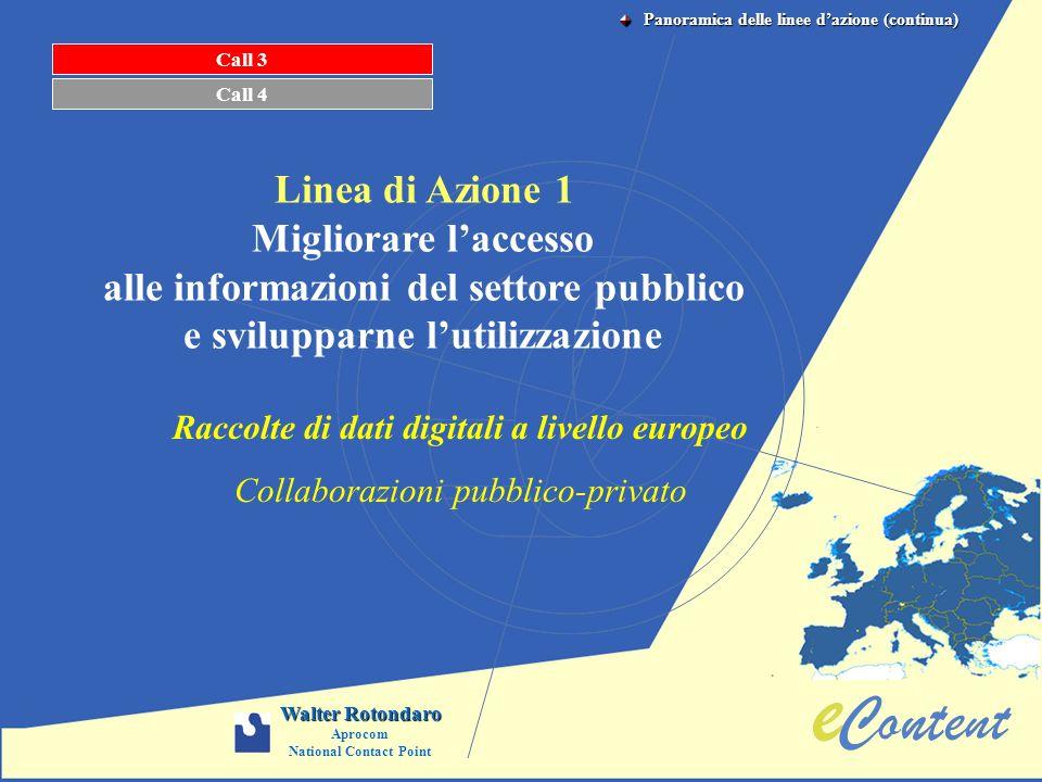 alle informazioni del settore pubblico e svilupparne l'utilizzazione