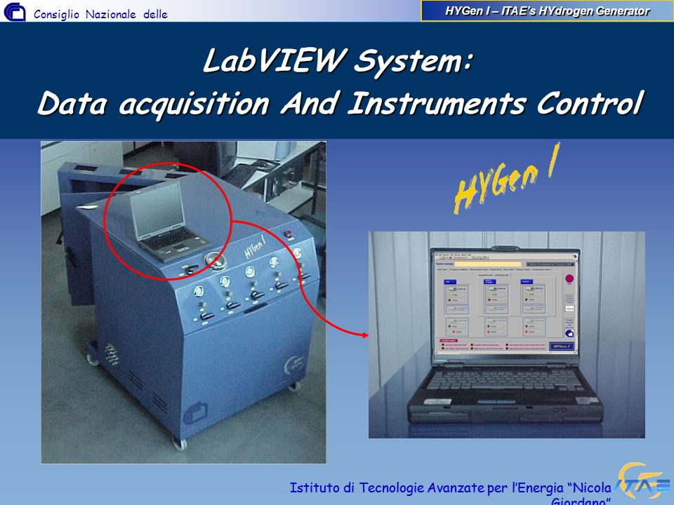 LabVIEW System: Data acquisition And Instruments Control