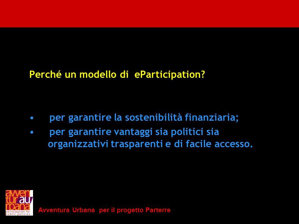 Perché un modello di eParticipation