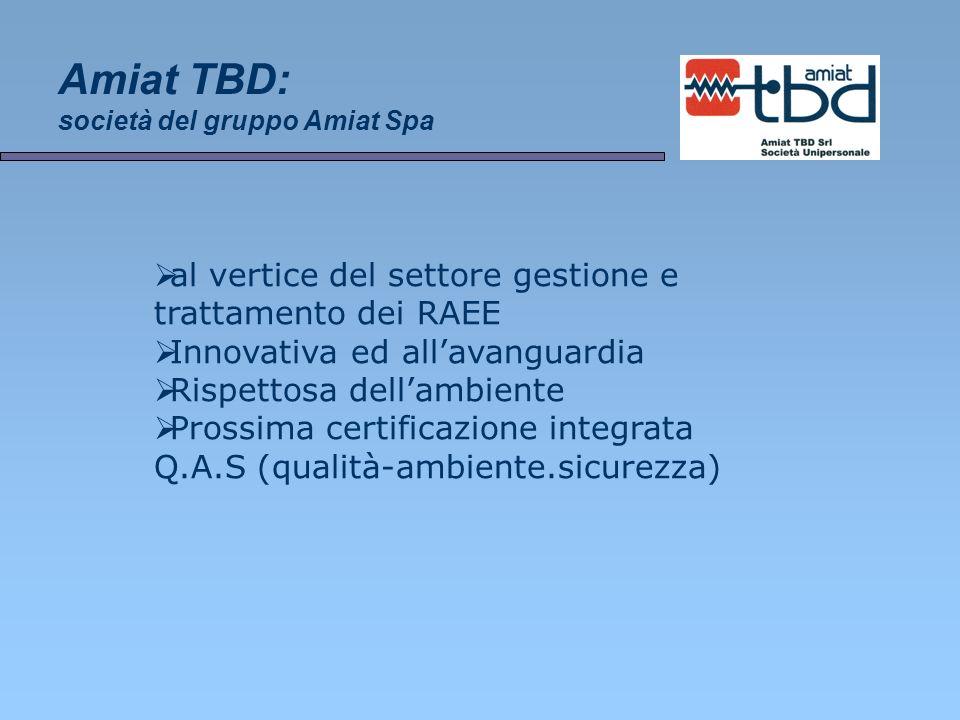 Amiat TBD: società del gruppo Amiat Spa