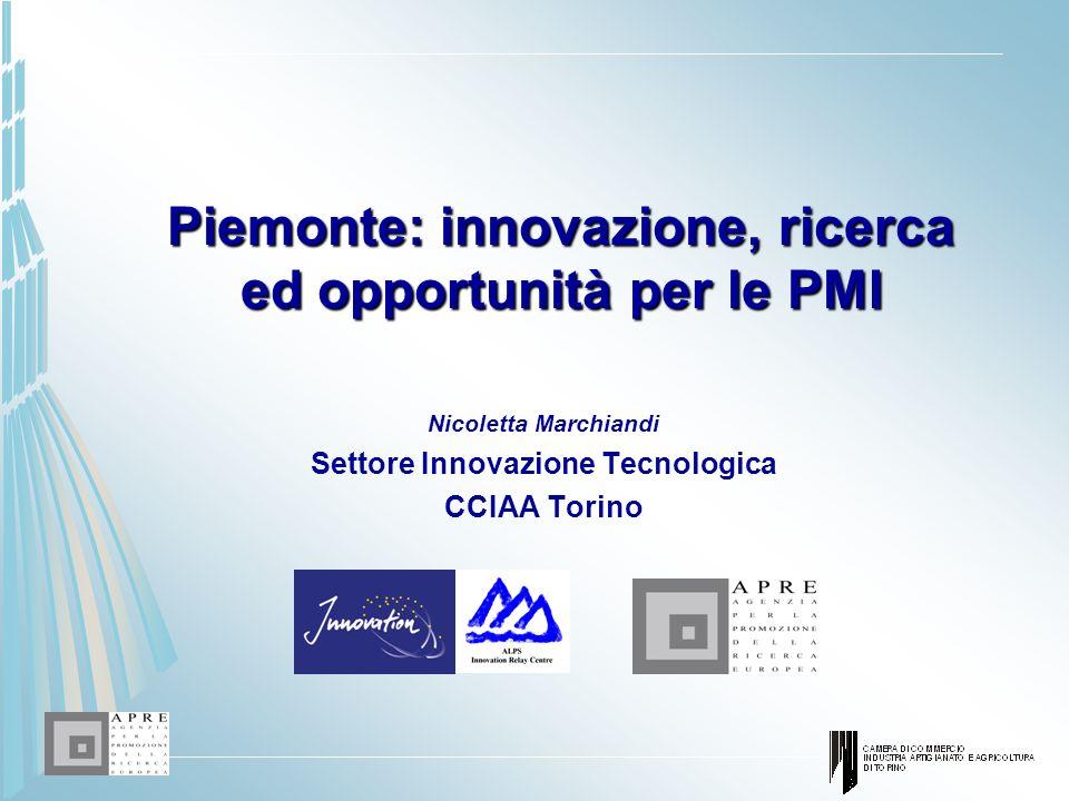 Piemonte: innovazione, ricerca ed opportunità per le PMI