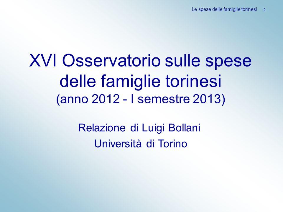 Relazione di Luigi Bollani