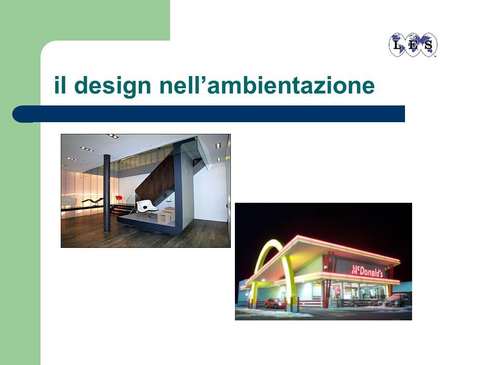 il design nell'ambientazione