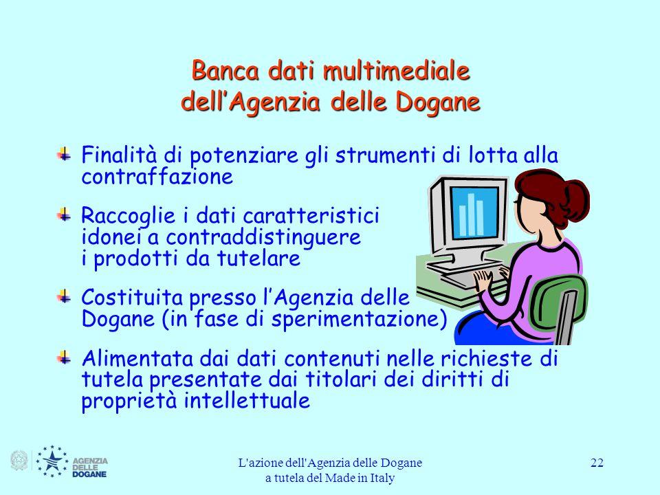 Banca dati multimediale dell'Agenzia delle Dogane