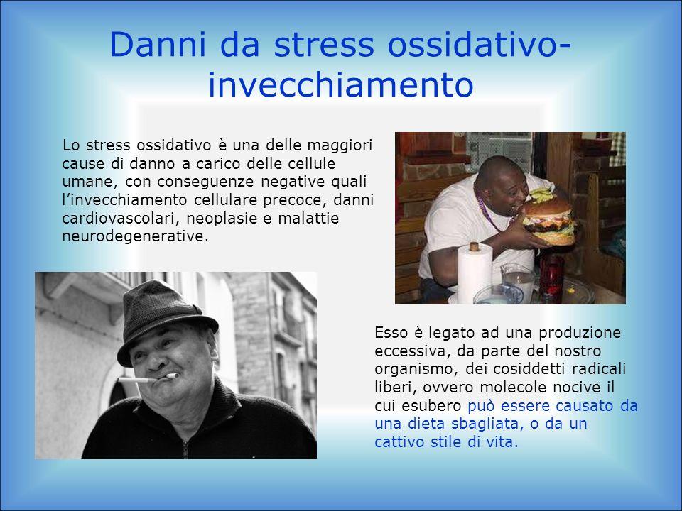 Danni da stress ossidativo-invecchiamento