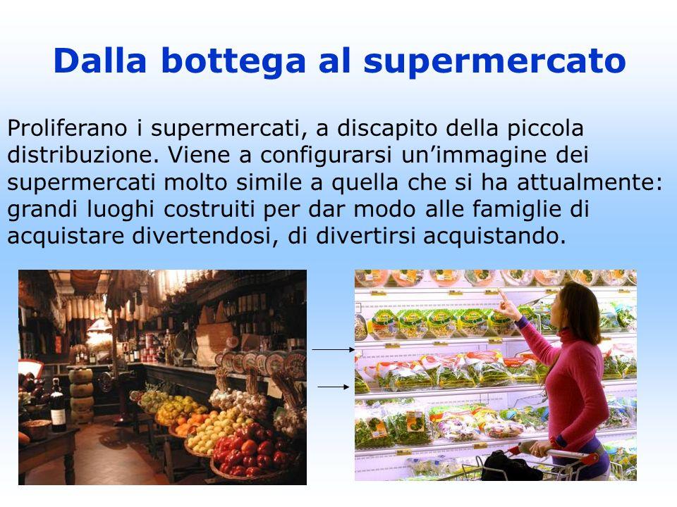 Dalla bottega al supermercato
