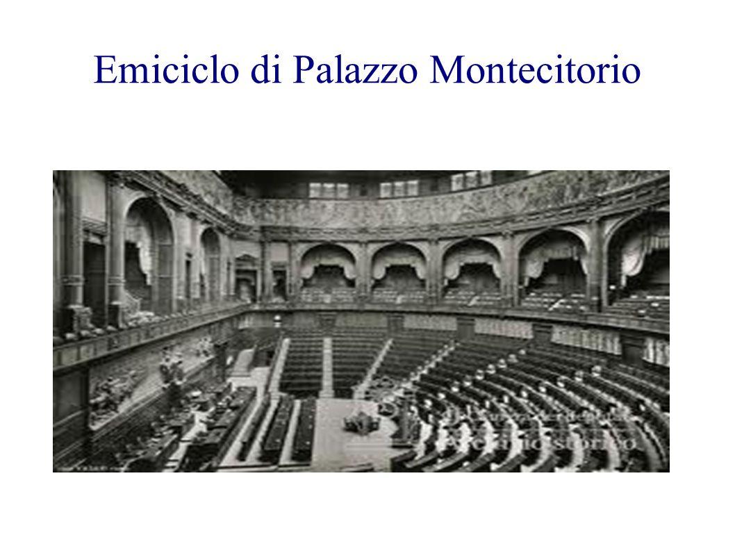 Emiciclo di Palazzo Montecitorio