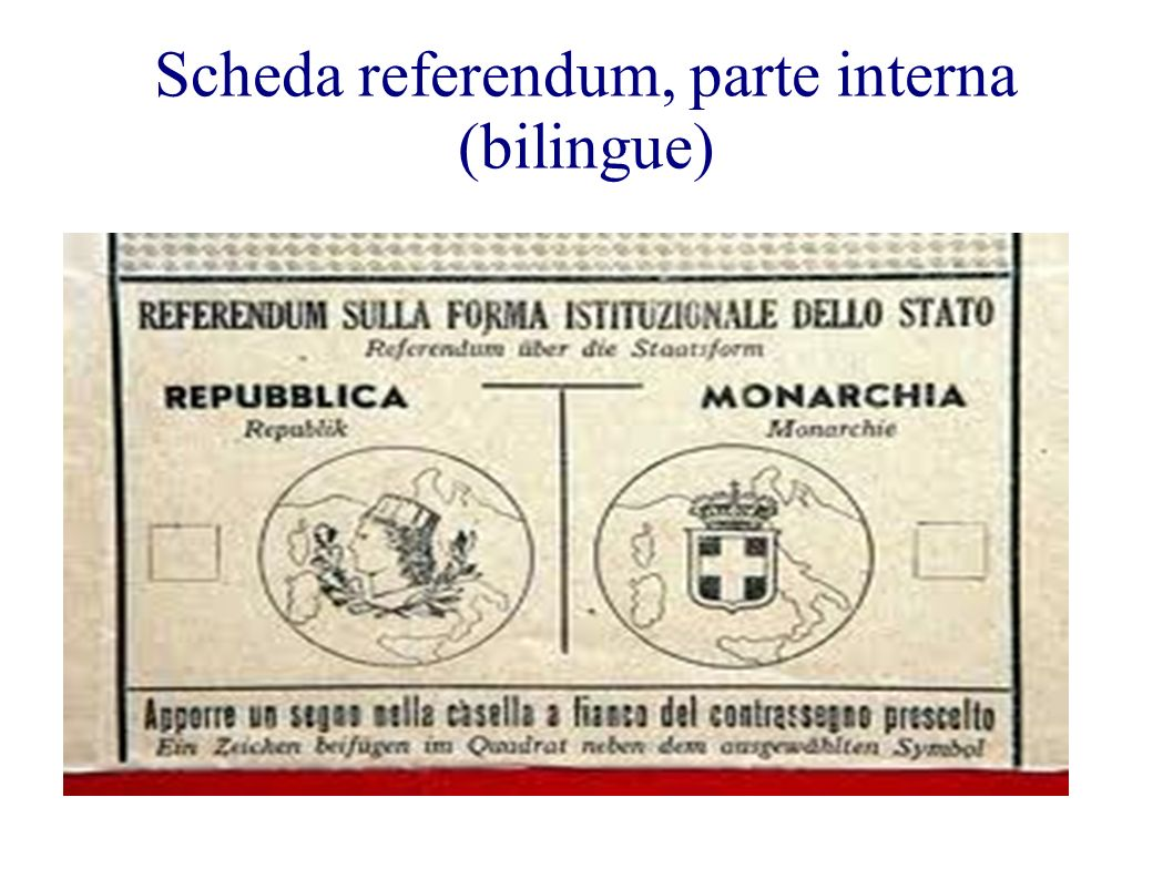 Scheda referendum, parte interna (bilingue)