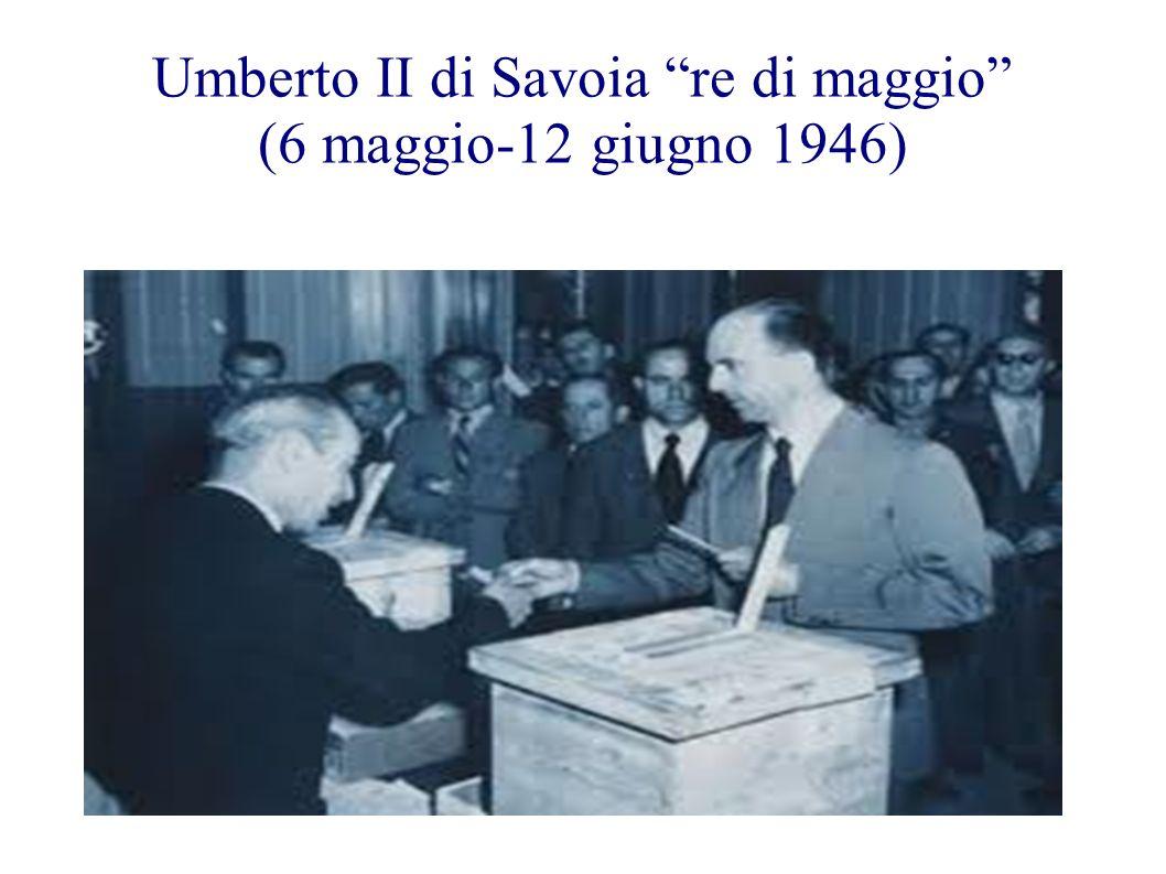 Umberto II di Savoia re di maggio (6 maggio-12 giugno 1946)