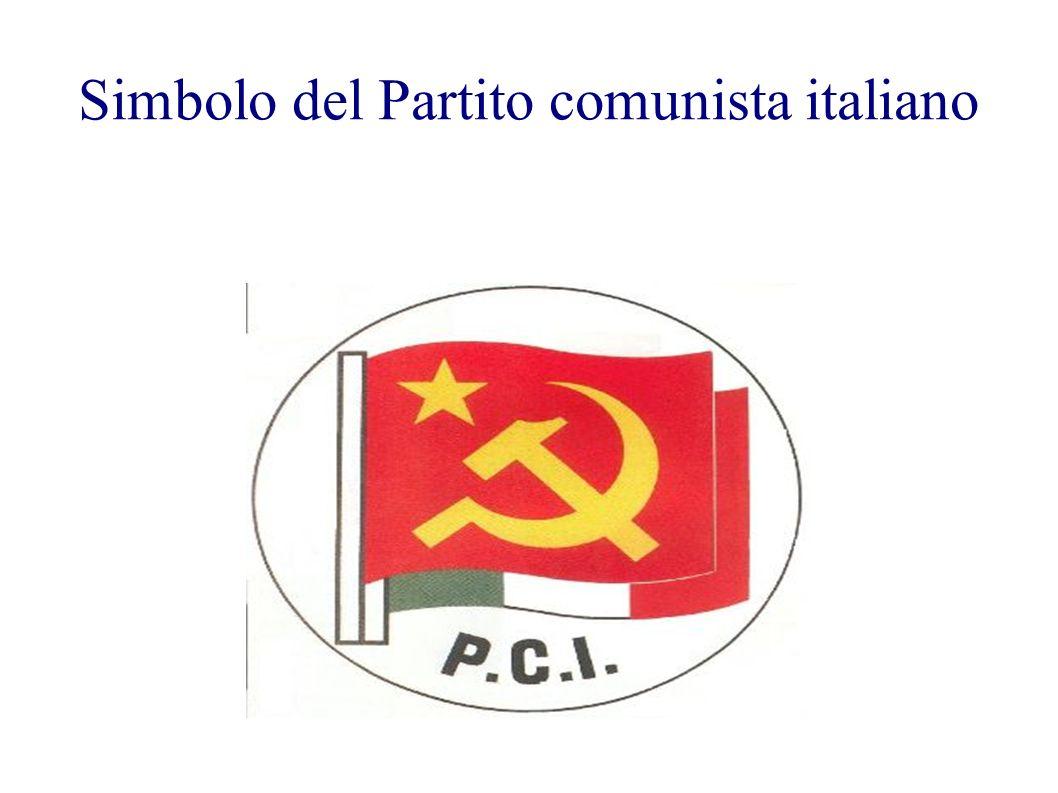 Simbolo del Partito comunista italiano