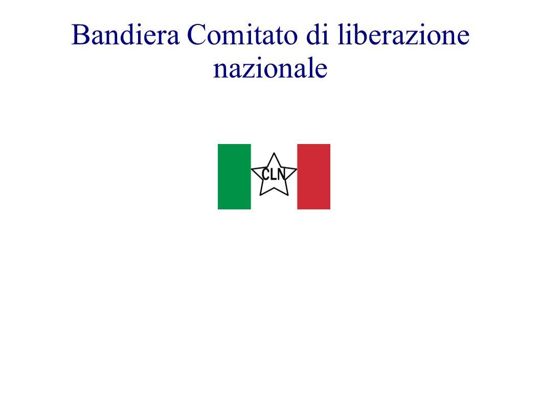 Bandiera Comitato di liberazione nazionale