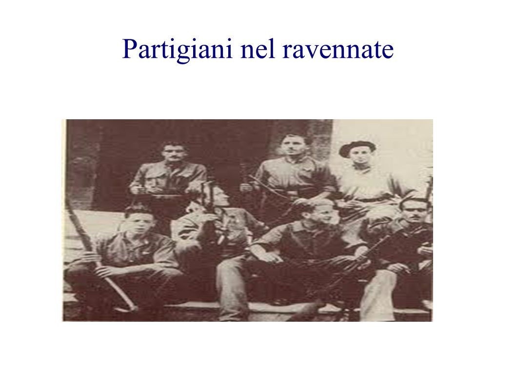 Partigiani nel ravennate