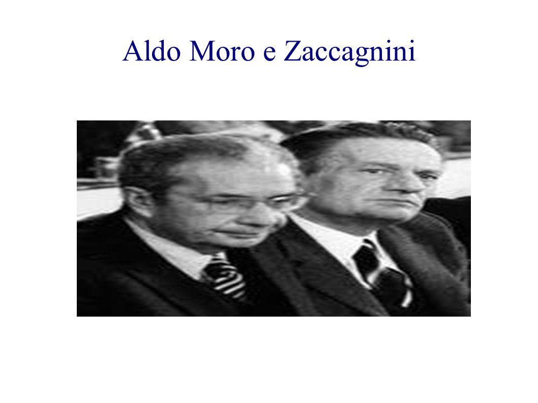 Aldo Moro e Zaccagnini