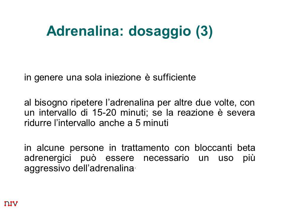 Adrenalina: dosaggio (3)