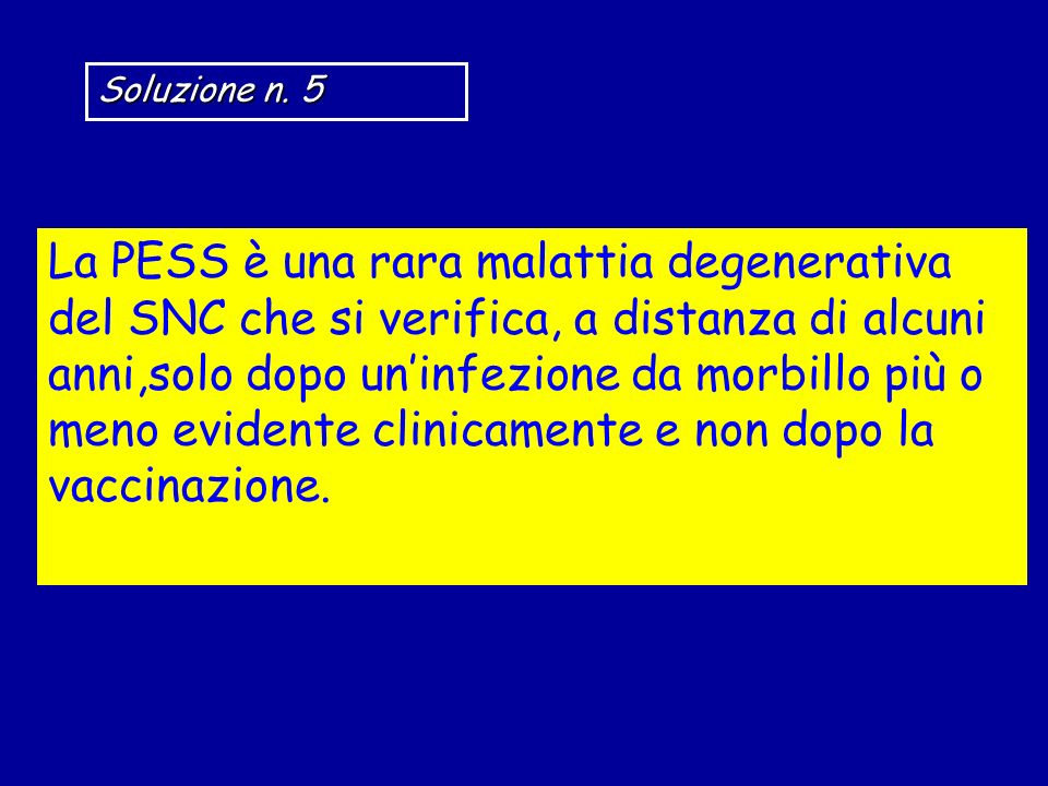 Soluzione n. 5