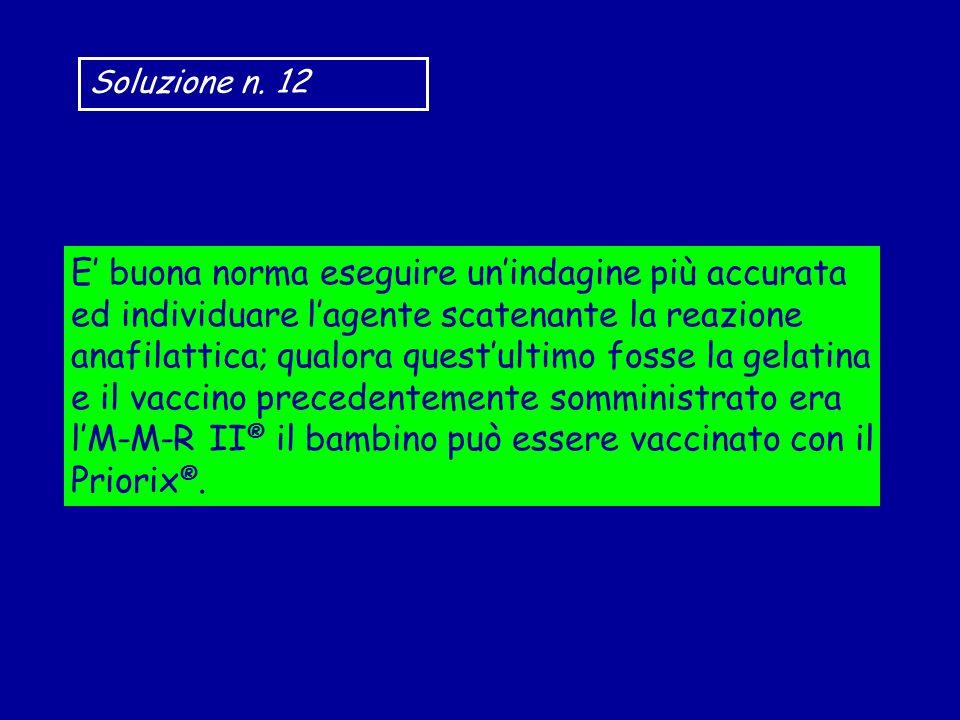 Soluzione n. 12