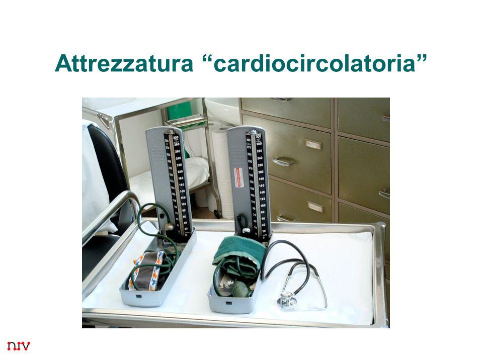 Attrezzatura cardiocircolatoria