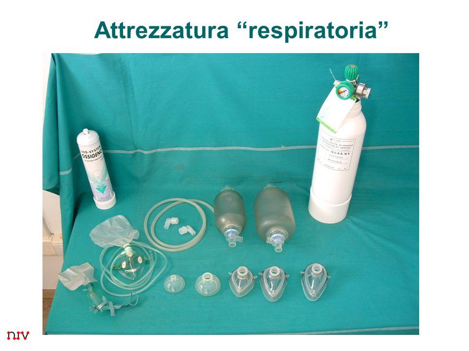 Attrezzatura respiratoria