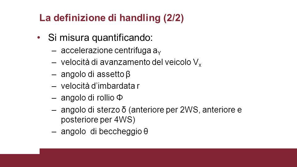 La definizione di handling (2/2)