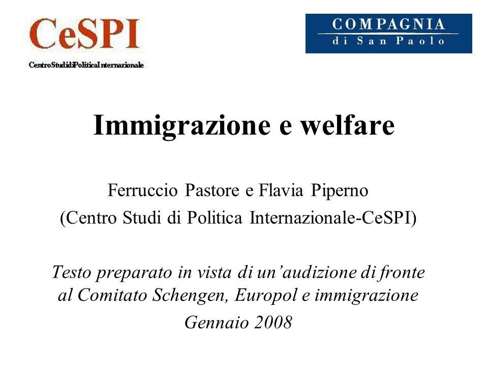 Immigrazione e welfare