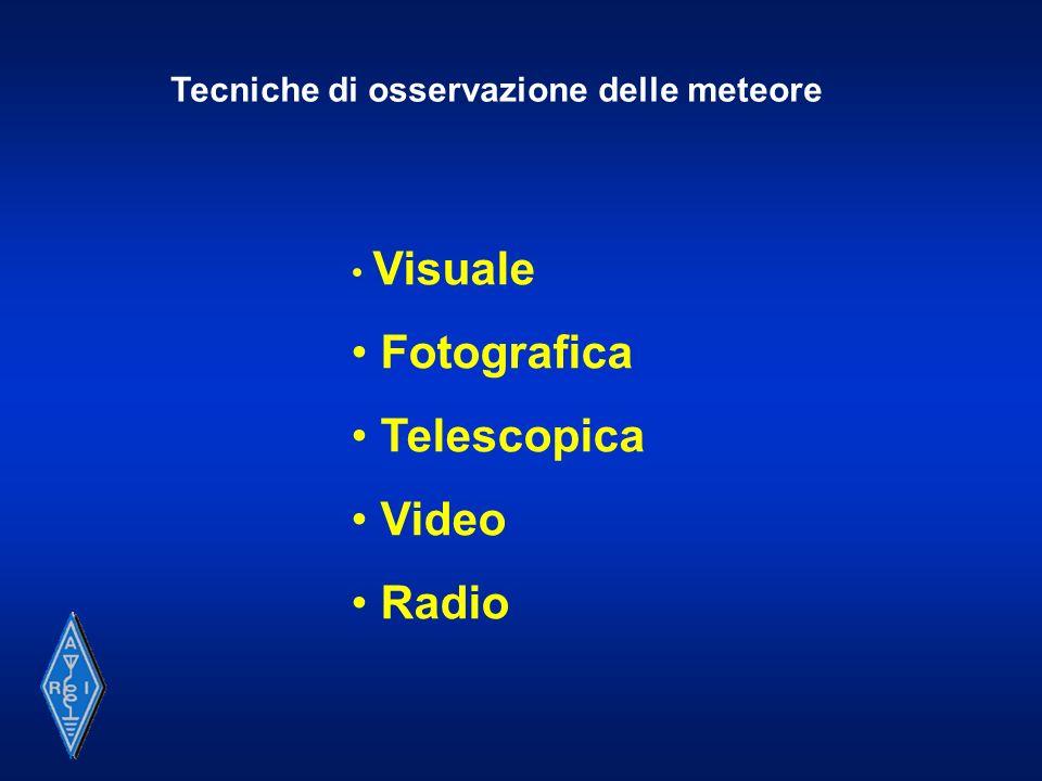 Fotografica Telescopica Video Radio