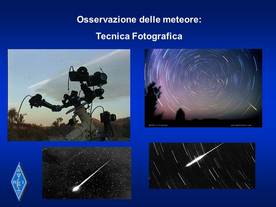 Osservazione delle meteore: