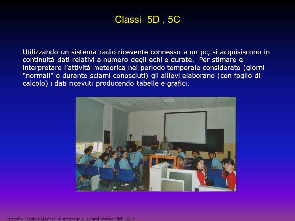 Classi 5D , 5C