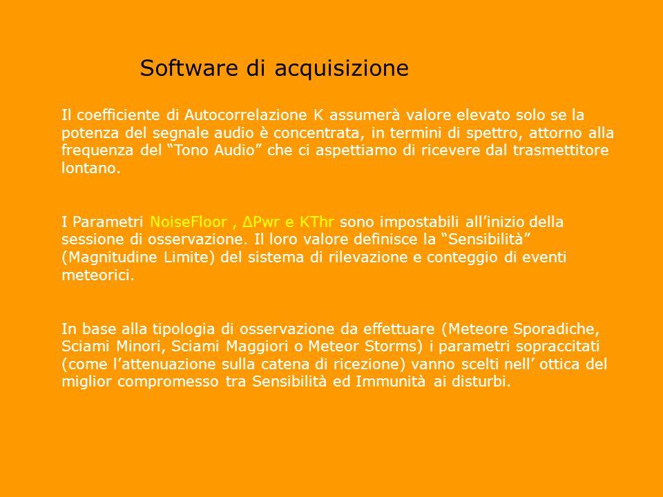 Software di acquisizione