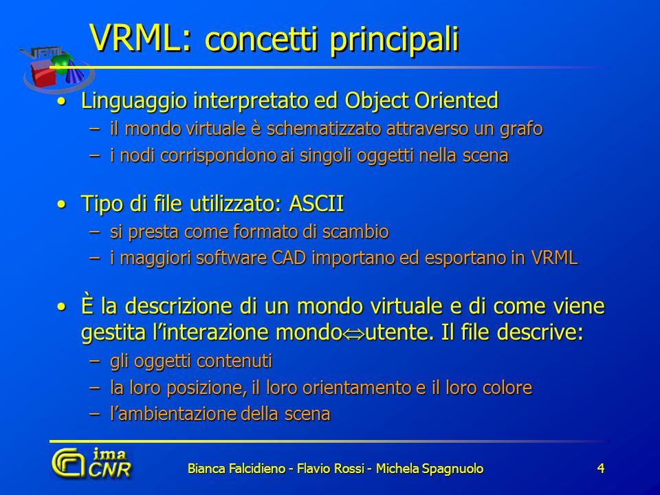 VRML: concetti principali