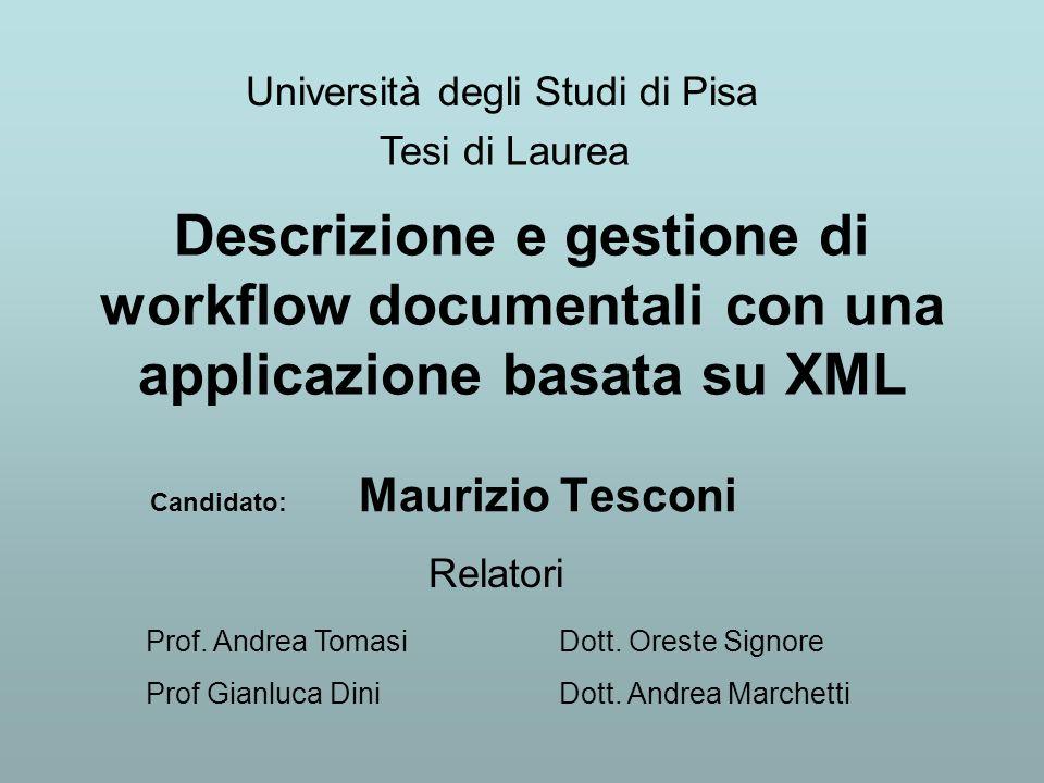 Candidato: Maurizio Tesconi